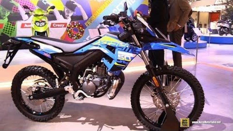 2018 Senda X-Treme 50 R - Walkaround - 2017 EICMA Motorcycle Exhibition