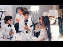 Дети спели на свадьбу сестры до слёз