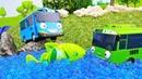 Vidéo en français pour enfants de Tayo et Rogi à la pêche