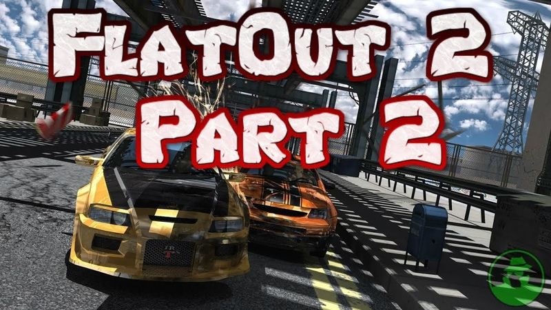 FlatOut 2 (PC) Walkthrough Part 2 Bay Area Derby Cup [No Commentary] (720 HD)