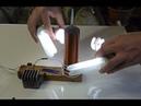 Катушка Тесла на одном транзисторе (качер Бровина)