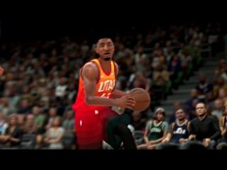NBA 2K18 - Ben Simmons vs Donovan Mitchell