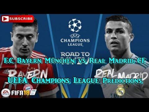Bayern München vs Real Madrid | UEFA Champions League Semi-finals | Predictions FIFA 18