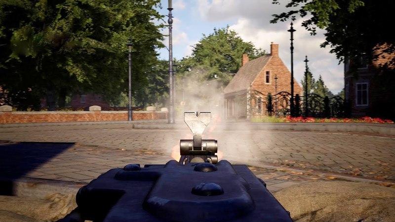NEW WWII Simulator   MG42 Base Defense Build   Post Scriptum Gameplay