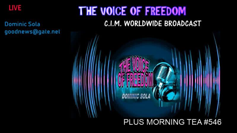 Voice of Freedom Plus Morning Tea 546