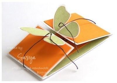 Сделаем открытку-бабочку?