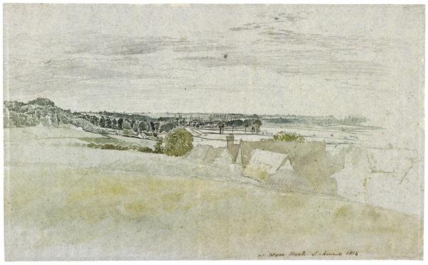 Джон Линнелл (англ. John Linnell, 16 июня 1792- 1882) английский художник-пейзажист. Дж. Линнелл уже в ранней юности, до наступления своего 15-летия, пишет пейзажные полотна. Изучал живопись под