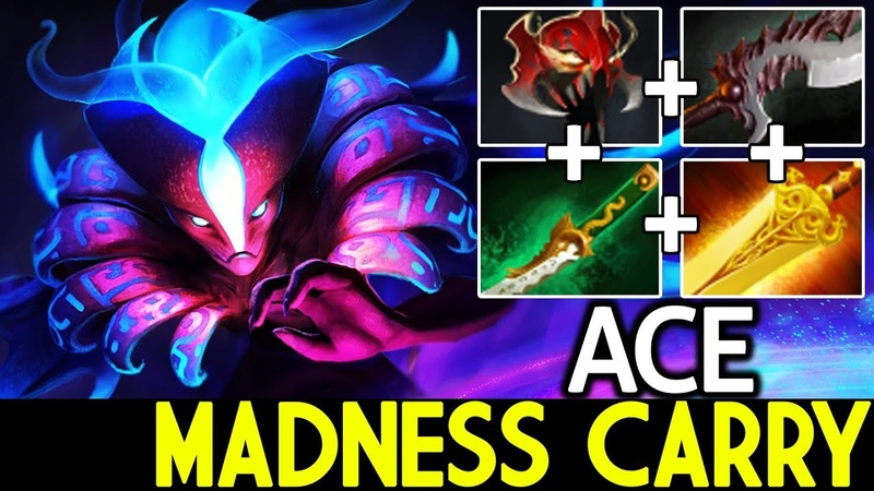 ACE [Spectre] Madness Carry! MOM and Radiance 7.19 Dota 2