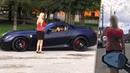 УЧИЛКА С 4 РАЗМЕРОМ ПОВЕЛАСЬ НА FERRARI 599 GTO И БЫЛА ЖЕСТОКО НАКАЗАНА