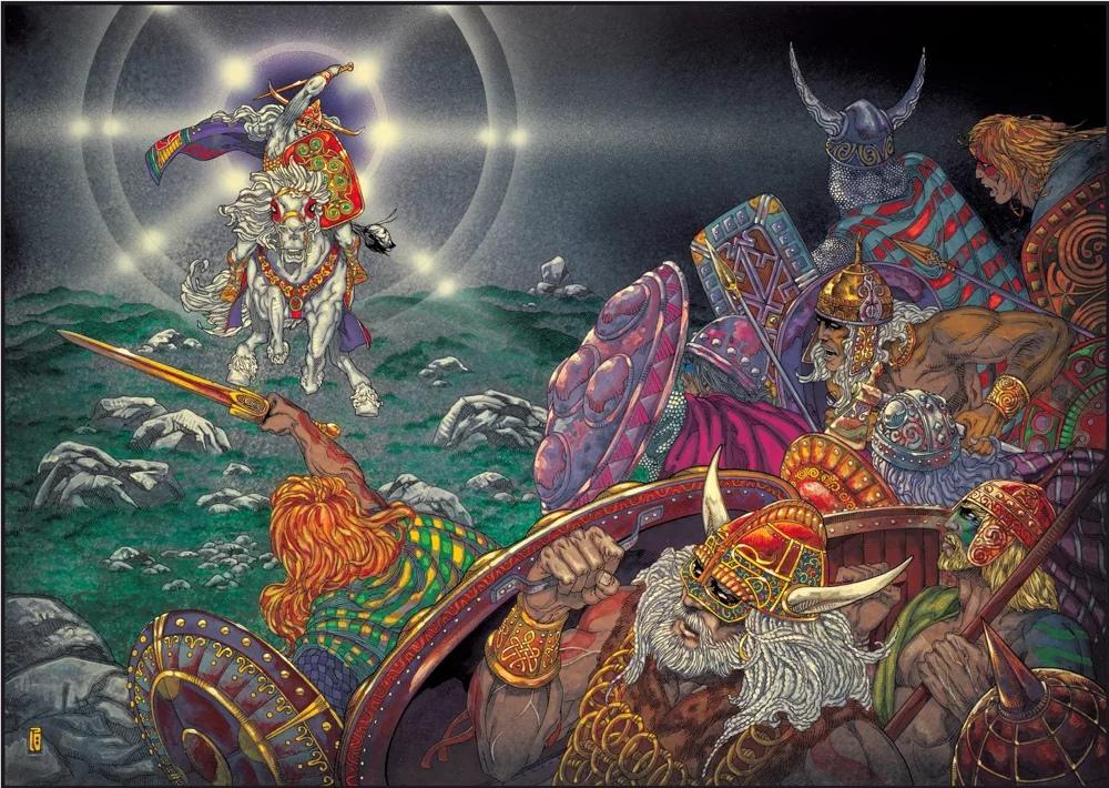 Фото анимация боги северного пантеона участке