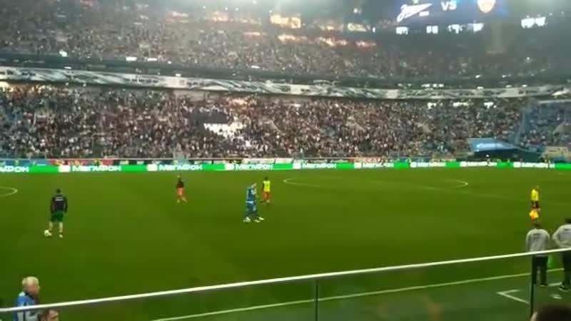 дзюбинфеев на матче Зенит-ЦСКА