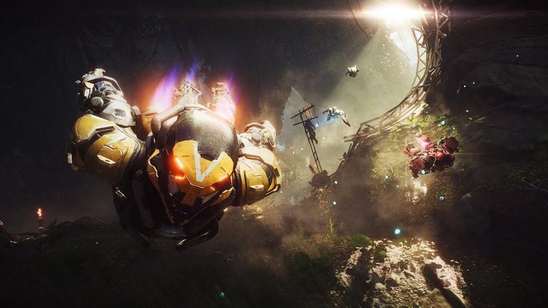 Bioware опубликовала 20-минутный ролик с игровым процессом Anthem