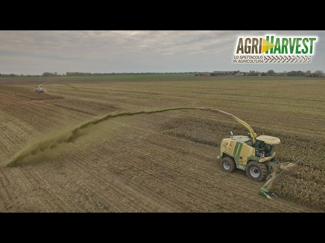 Insolite crazy silage in Italy | No trailers | 2016 | 4K