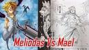 Mael Vs Meliodas Nanatsu No Taizai Prisoners of the Sky Special