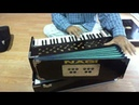 Double reed Portable harmonium, 3.5 Octave display