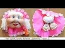 Как сшить куклу-попика из колготок. Часть 2