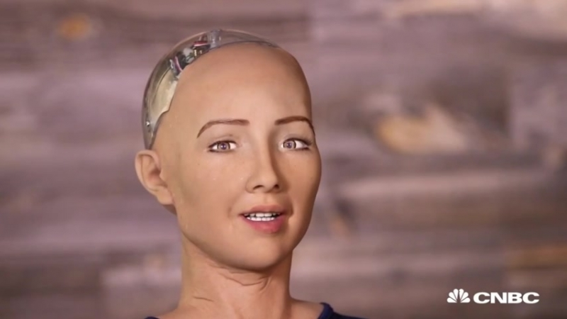 Hot Robot At SXSW Says She Wants To Destroy Humans _ The Pulse _ CNBC