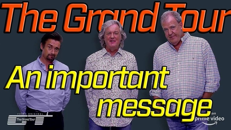 The Grand Tour Clarkson Hammond and May have Something to Say
