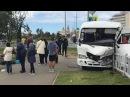 В Адлере сегодня столкнулись два рейсовых автобуса. Новости Сочи Эфкате