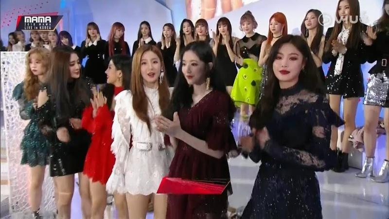 [Live] (G)I-DLE Best Of Next MaMa Asia Music Awards 2018 (Korea)
