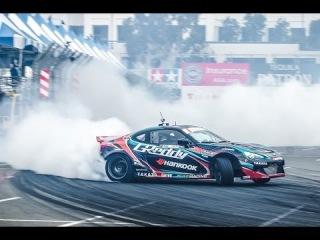 Formula Drift Round 1: The Streets of Long Beach 2014
