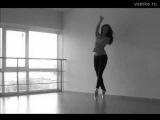 танцы в стиле Go Go на пуантах