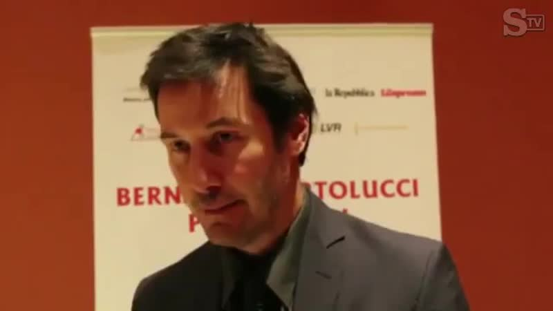 """@keanuital on Instagram: """"Interview with the actor Keanu Reeves at the Auditorium Parco della Musica, in Rome, 2015 for the even"""