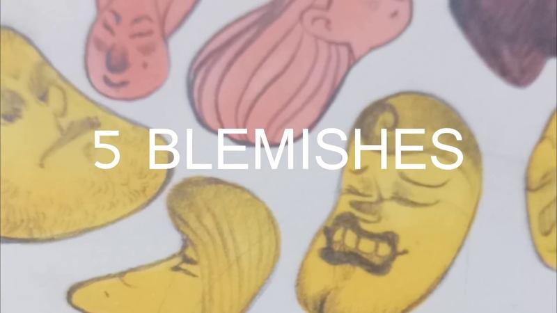 ★ 5 BLEMISHES ★ — face 【ART challenge】