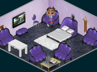 Интерьер комнаты в аватарии