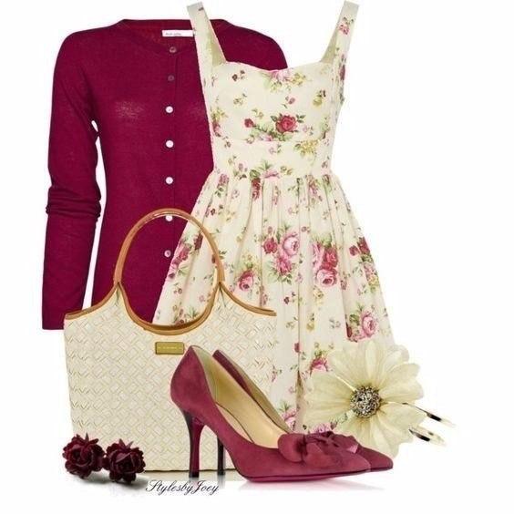 10 способов носить платье с цветочным принтом