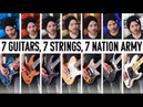 7 Guitars, 7 Strings, 7 Nation Army   Pete Cottrell