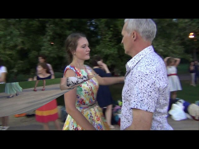 исторические танцы в парке Горького 16 августа 2017 www.rpu-dance.ru