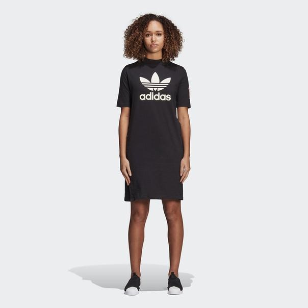 Платье-футболка Adibreak
