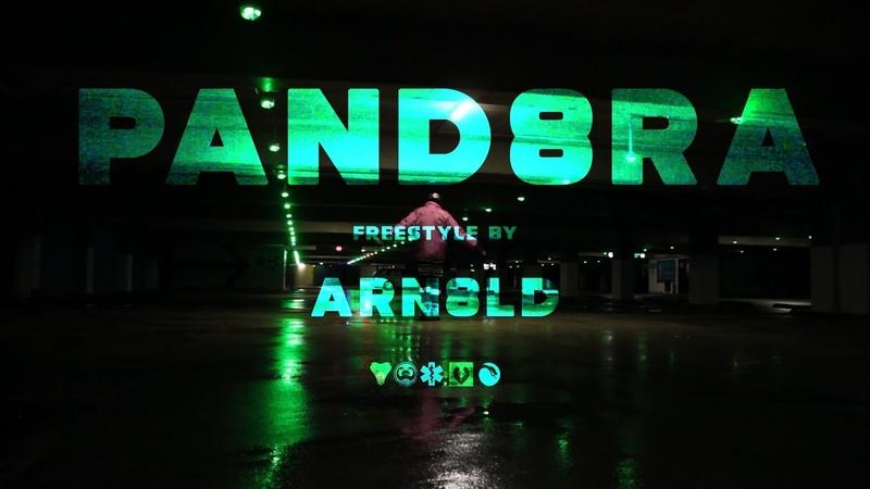 ARN8LD - PAND8RA (Freestyle Video)