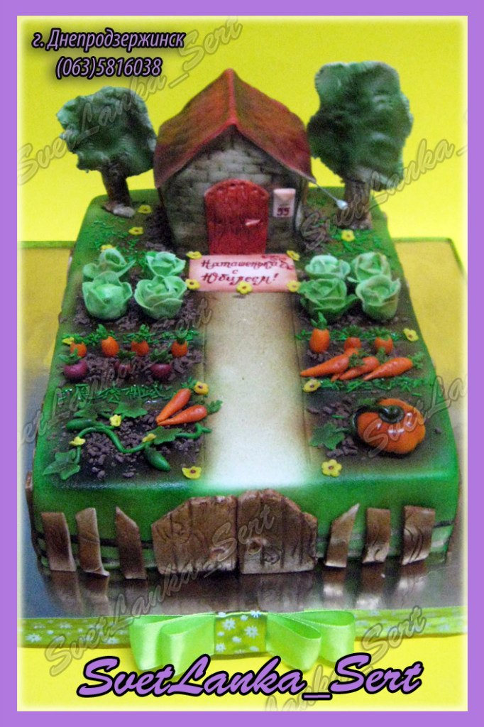 Город сад дача огород торты