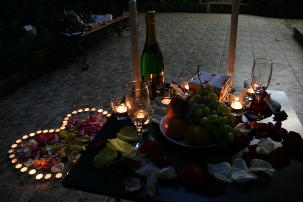 как устроить романтический вечер