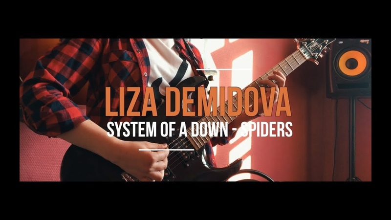 System of a Down - Spiders guitar cover by 13 Years old girl