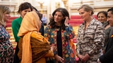 The Countess hosts a reception on International Womens Day at Buckingham Palace