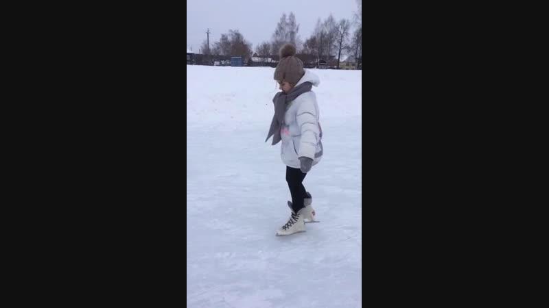 Первый раз на Урале первый раз на коньках ⛸⛸😃👍