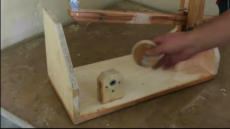 Making a Homemade Scroll Saw Drill Powered El Yapımı Kıl Testere Makinası