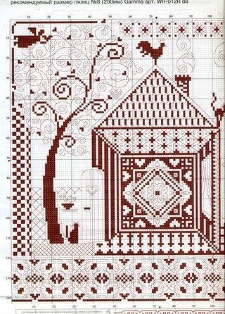 схемы вышивки ОБЕРЕГИ | схемы