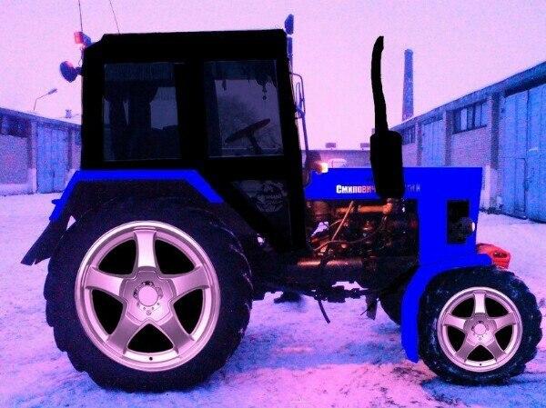 Трактора МТЗ - 5 в кино - YouTube