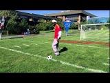 Snoop Dogg показал как надо играть в футбол