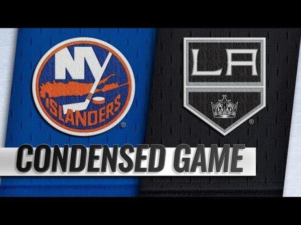 New York Islanders vs Los Angeles Kings – Oct.18, 2018