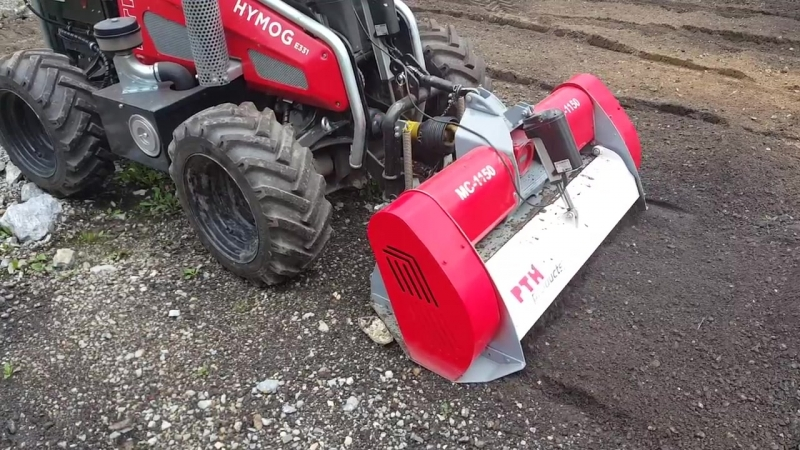 PTH Micro Crusher - the perfect solutions for landscapers or small rural road