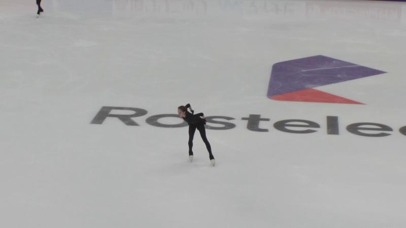Alina Zagitova Free 2018 11 15