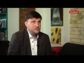 """Aleksandras Sacharukas įvardijo, kas yra koncerno """"MG Baltic stogas""""."""