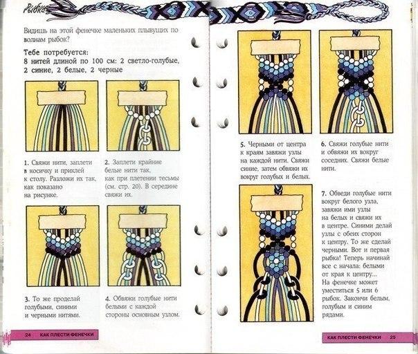 Как сделать схему для фенечек прямого плетения