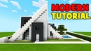 Minecraft Tutorial How To Make A Modern A Frame House