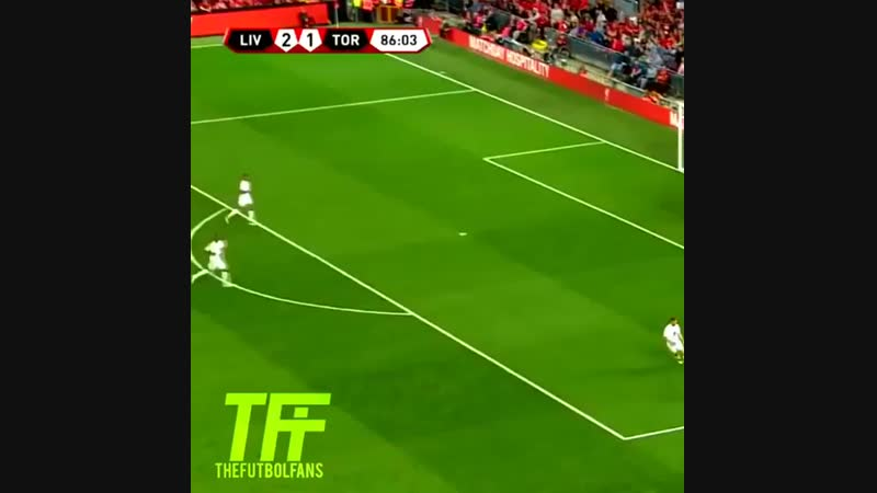 Изящная голевая передача Шакири в матче с Торино 🔥